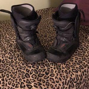 Vans snowboarding boots!